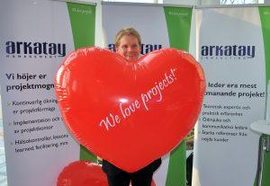 Glad gäst från Antura i Arkatays monter 2014